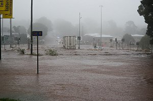 Floods in Toowoomba
